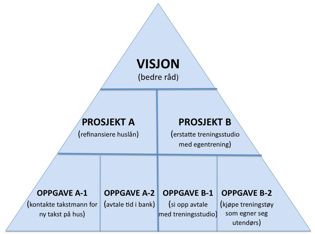 Visjoner - prosjekt - oppgave